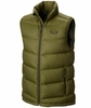 Mountain Hardwear Mens Ratio Down Vest Utility Green
