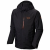 Mountain Hardwear Mens Sluice Insulated Jacket Black/ Dark Adobe
