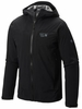 Mountain Hardwear Mens Stretch Ozonic Jacket Black Medium