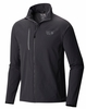 Mountain Hardwear Mens Super Chockstone Full Zip Jacket Shark/ Titanium (Close Out)