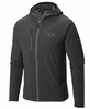 Mountain Hardwear Mens Super Chockstone Jacket Shark/ Titanium (Close Out)