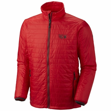 Mountain Hardwear Mens Thermostatic Jacket Mountain Red (Close Out)