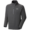 Mountain Hardwear Mens Toasty Tweed 1/4 Zip Graphite (Close Out)
