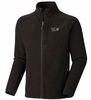 Mountain Hardwear Mens Toasty Tweed Fleece Jacket Black (Close Out)