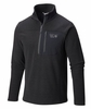 Mountain Hardwear Mens Toasty Twill 1/2 Zip Black (Close Out)