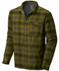 Mountain Hardwear Mens Trekkin Flannel Shacket Shark