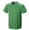Mountain Hardwear Mens Wicked Lite Short Sleeve T Fuse Green (Close Out)