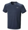 Mountain Hardwear Mens Wicked Lite SS T Zinc (Close Out)