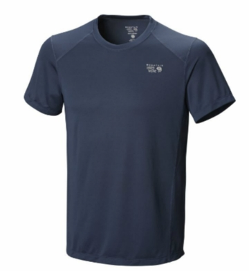 Mountain Hardwear Mens Wicked Lite SS T Zinc (Spring 2014)