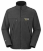 Mountain Hardwear Mens Windstopper Tech Jacket Black/ Black (Close Out)