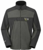 Mountain Hardwear Mens Windstopper Tech Jacket Charcoal Large (Close Out)