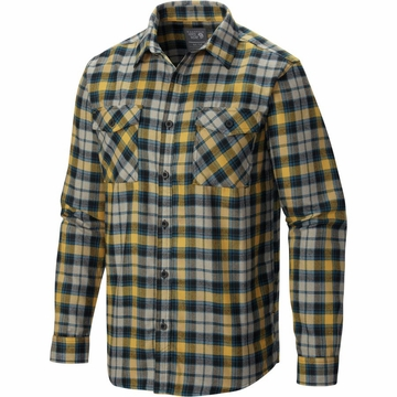 Mountain Hardwear Trekkin Flannel Long Sleeve Inca Gold (Close Out)