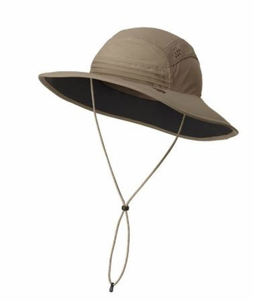 Mountain Hardwear Womens Chiller Wide Brim Hat Khaki (Close Out)