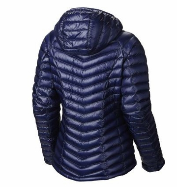 Mountain Hardwear Womens Ghost Whisperer Down Hooded Jacket Aristocrat
