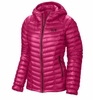 Mountain Hardwear Womens Ghost Whisperer Down Hooded Jacket Bright Rose