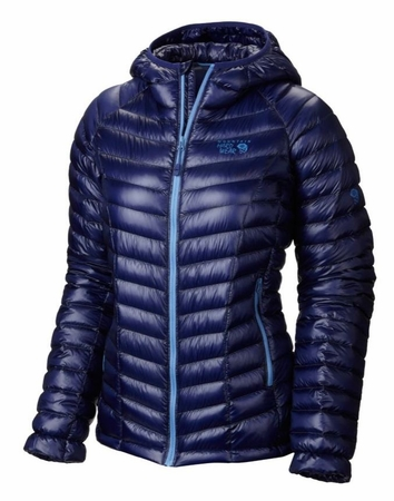 Mountain Hardwear Womens Ghost Whisperer Down Hooded Jacket Aristocrat  (close out)