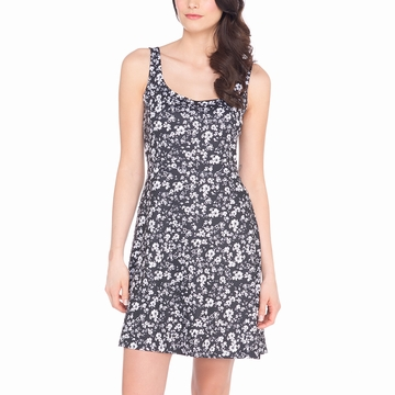 Lole Womens Saffron Dress Black Flower (Spring 2015)