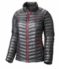 Mountain Hardwear Womens Ghost Whisperer Down Jacket Graphite/ Bright Rose