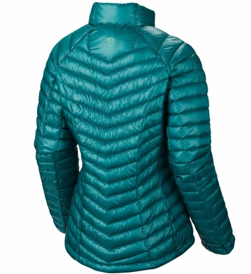 Mountain Hardwear Womens Ghost Whisperer Down Jacket Mayan Green (Autumn 2014)