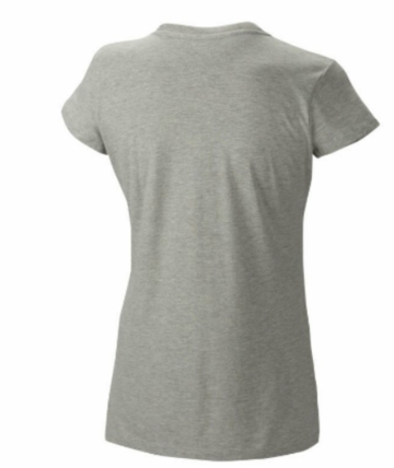 Mountain Hardwear Womens MHW Logo Short Sleeve T Heather Grey (Spring 2014)