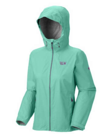 Mountain Hardwear Womens Plasmic Jacket Atlantis (Close Out)