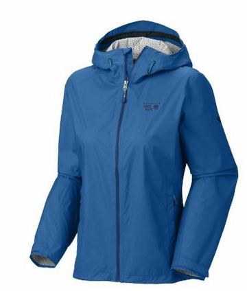 Mountain Hardwear Womens Plasmic Jacket Bay Blue (Close Out)