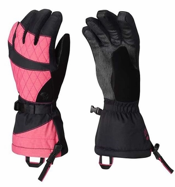 Mountain Hardwear Womens Returnia Glove Heather Haute Pink (Close Out)