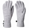 Mountain Hardwear Womens Snowpass Fleece Glove Heather Steam