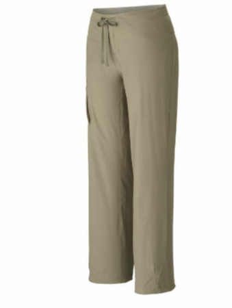 Mountain Hardwear Womens Yuma Pant Stone Green