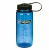 Nalgene Wide-Mouth Water Bottle 16oz Slate Blue
