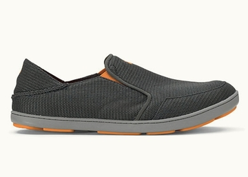 OluKai Mens Nohea Mesh Dark Shadow/ Dark Shadow (Spring 2014)