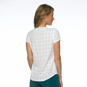 Prana Womens Lucie Top White