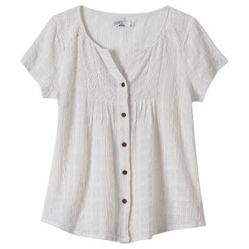 Prana Womens Lucy Top White