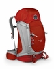 Osprey Kestrel 48 Fire Red