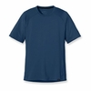 Patagonia Mens Capilene 1 Silkweight T-Shirt Glass Blue (Spring 2014)