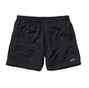 "Patagoina Womens Baggies Shorts 5"" Black"