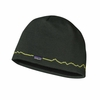 Patagonia Beanie Hat Fitz Roy Line: Smoked Green
