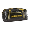 Patagonia Black Hole Duffel 90L Forge Grey w/ Chromatic Yellow