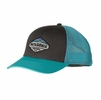 Patagonia Fitz Roy Crest LoPro Trucker Hat Forge Grey