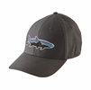 Patagonia Fitz Roy Tarpon Stretch Fit Hat Forge Grey