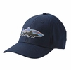 Patagonia Fitz Roy Tarpon Stretch Fit Hat Navy Blue
