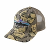 Patagonia Fitz Roy Trout Trucker Hat Big Camo: Classic Tan