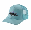 Patagonia Fitz Roy Trout Trucker Hat Cuban Blue