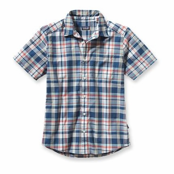 Patagonia Go To Mens Shirt Sisquoc: Glass Blue  (Past Season)