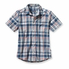 Patagonia Go To Mens Shirt Sisquoc: Glass Blue