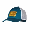 Patagonia Live Simply Guitar LoPro Trucker Hat Underwater Blue