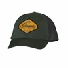 Patagonia LoPro Trucker Hat Fish Hook Logo: Smoked Green