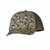 Patagonia LoPro Trucker Hat Fitz Roy Trout: Fish Camo Classic Tan