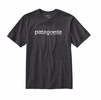 Patagonia Mens '73 Text Logo Recycled Cotton/Poly Responsibili-Tee Forge Grey
