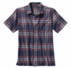 Patagonia Mens A/C Shirt Del Norte: Classic Navy (Spring 2014)